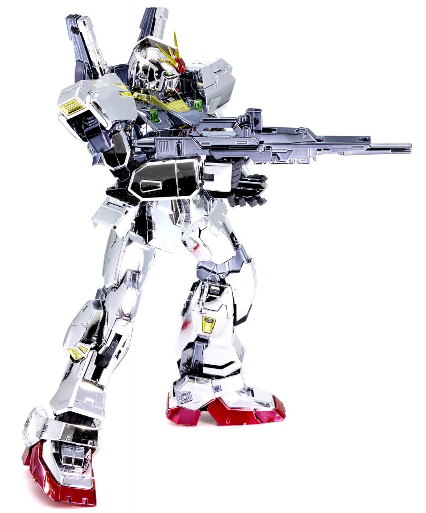 RG ガンダムMk-II エゥーゴ (メッキ) アピールショット5