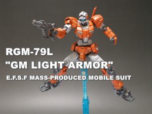 "HGUC RGM-79L ""GM LIGHT ARMOR"""
