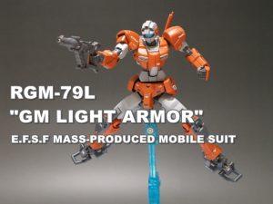 "HGUC RGM-79L ""GM LIGHT ARMOR"""