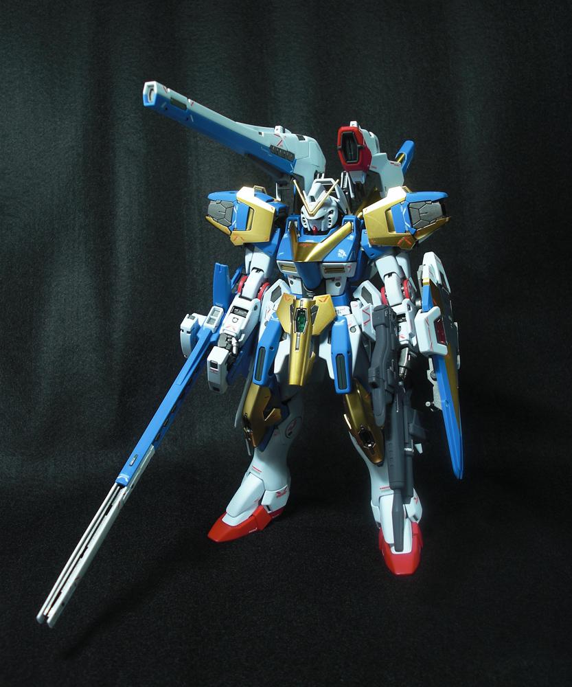 MG V2アサルトバスターガンダム ver.ka アピールショット2