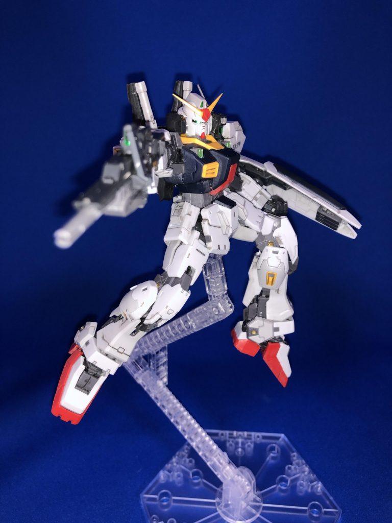 RG 1/144 RX-178 ガンダムMk-II (エゥーゴ仕様) アピールショット6