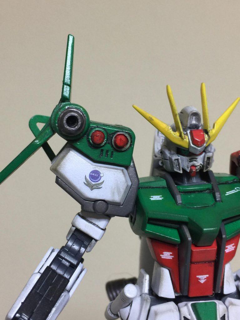 3代目 ロックオン・ストラトス 狙い撃つぜ❗️ アピールショット1