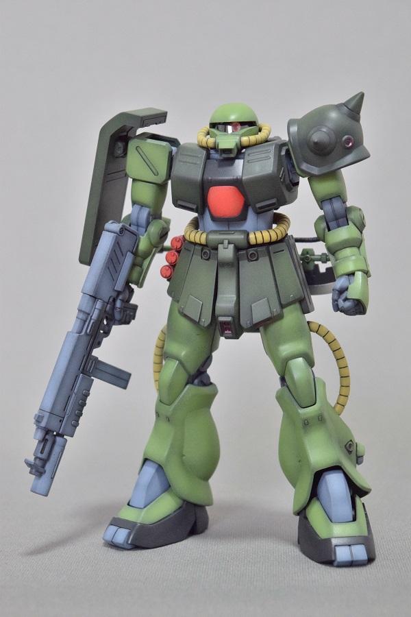 HGUC MS-06FZ ザクII改 アピールショット1