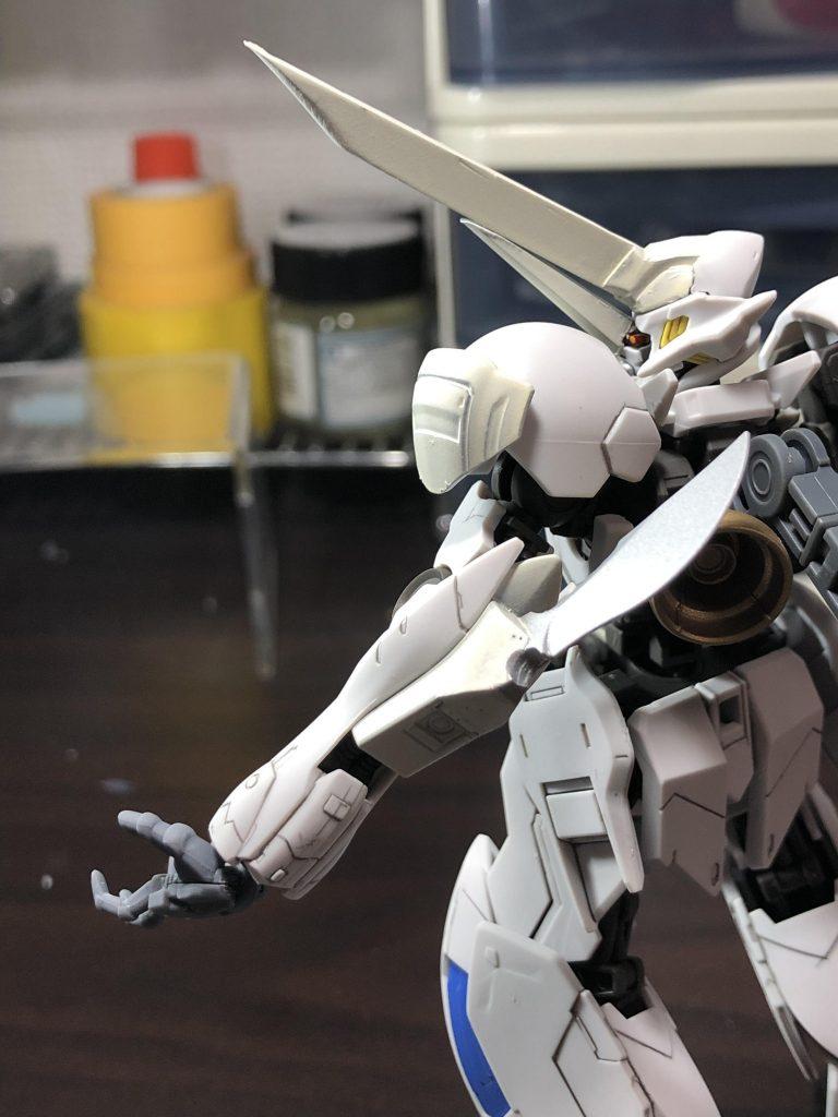 白の聖騎人 制作工程2