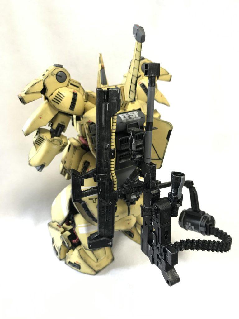 MG 1/100 ジO ウェザリング アピールショット3