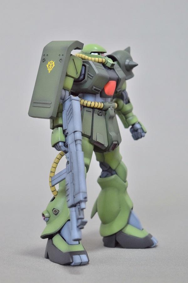 HGUC MS-06FZ ザクII改 アピールショット7