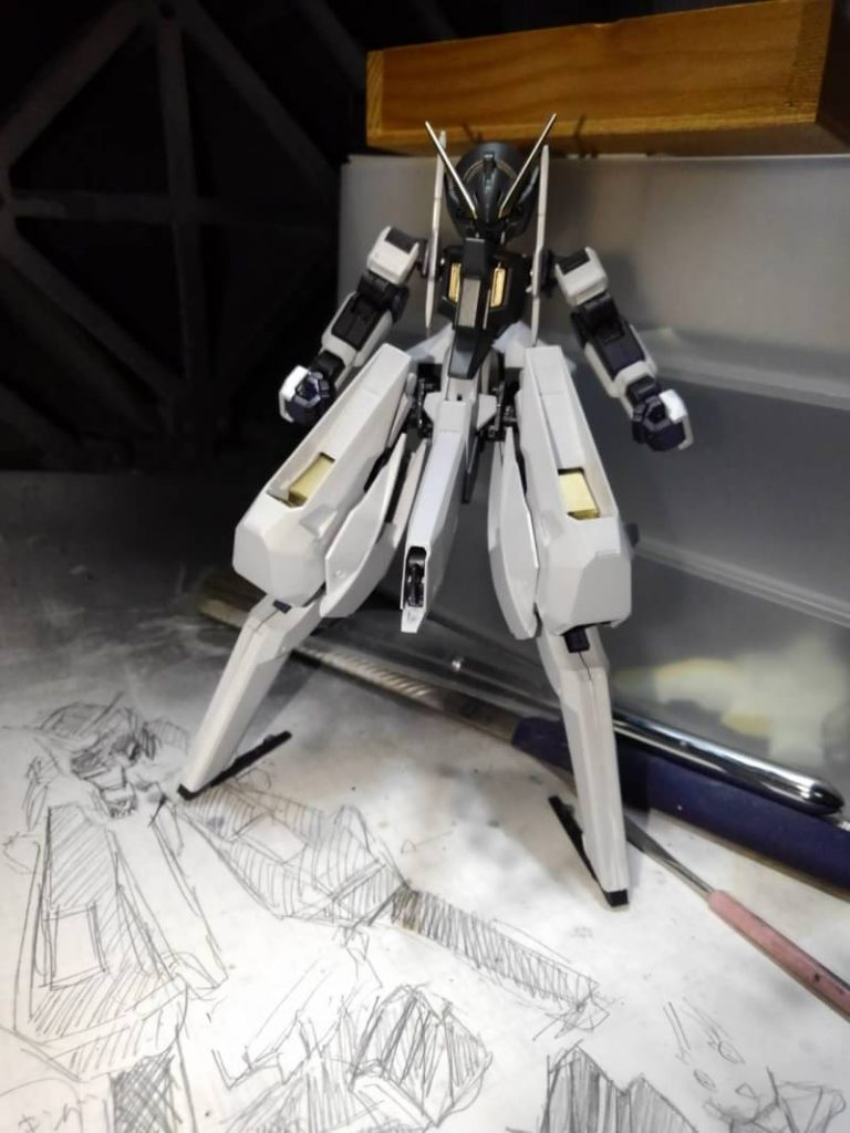 RX-124 TR-6ウーンドウォート 制作工程5
