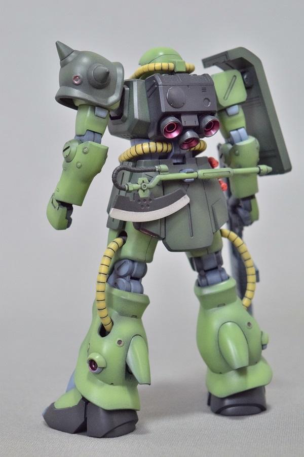 HGUC MS-06FZ ザクII改 アピールショット4
