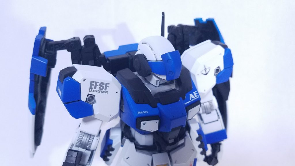 RGM-96/X-CW  ジェスタ クールホワイト アピールショット4