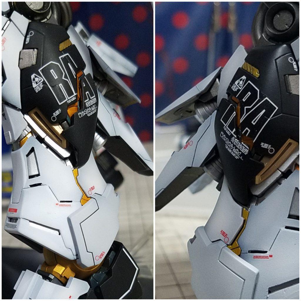 RX-93 ニューガンダム バージョンka. 制作工程5
