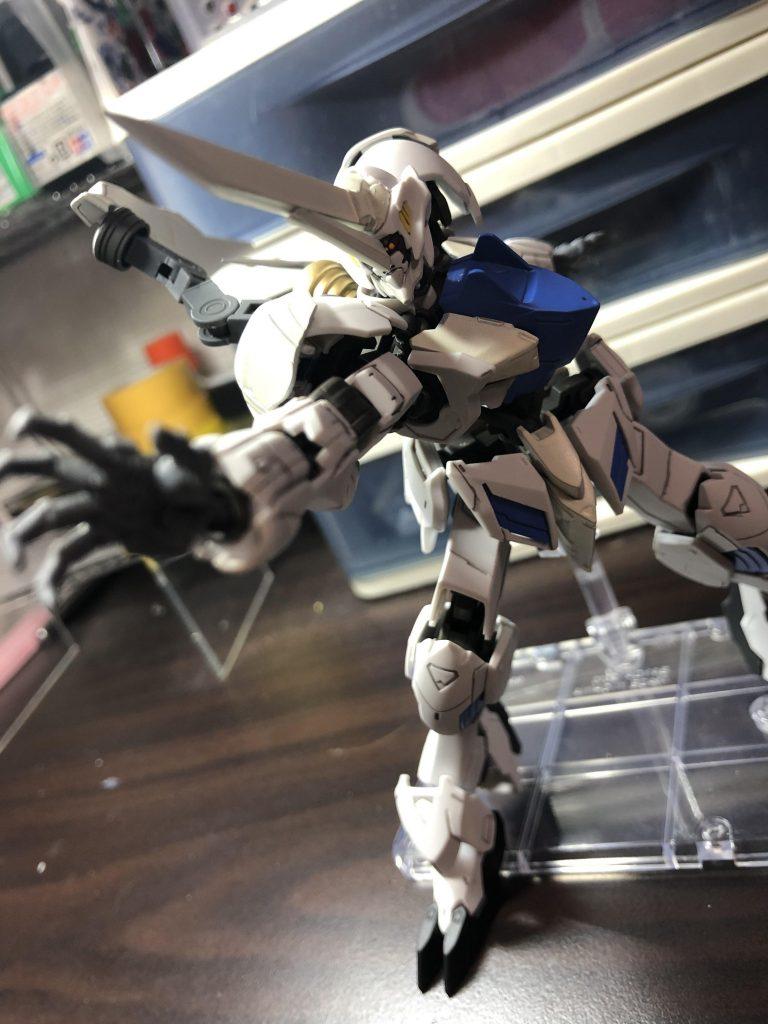 白の聖騎人 制作工程3