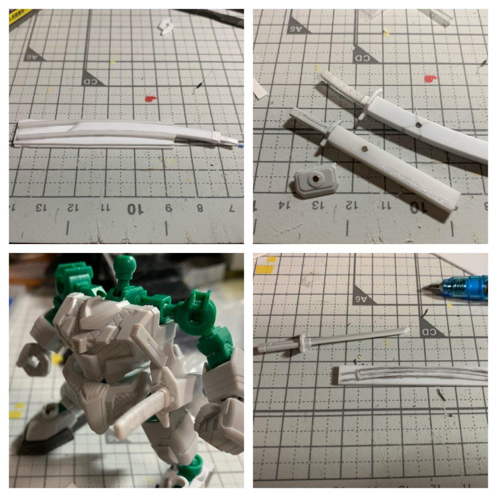 RX-零丸 神気結晶 制作工程2