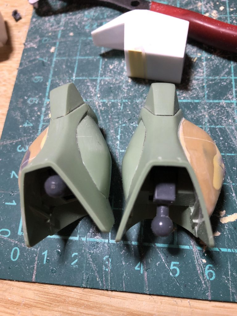 RGM-89C ジェガンカスタム 制作工程3