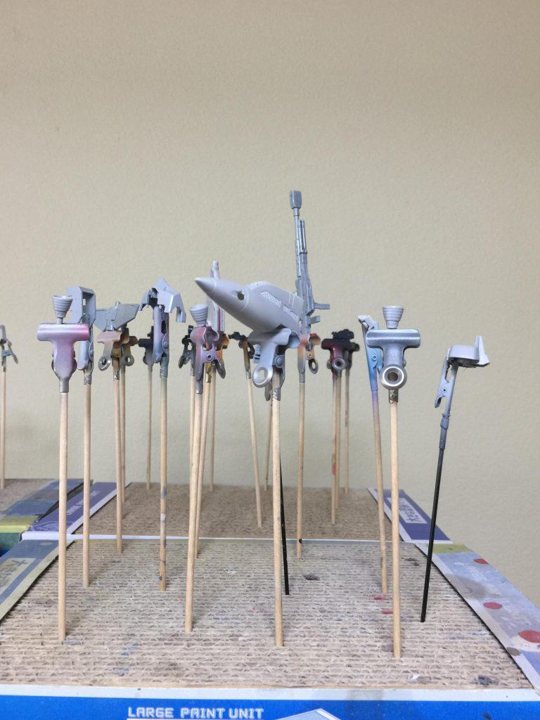 3代目 ロックオン・ストラトス 狙い撃つぜ❗️ 制作工程2
