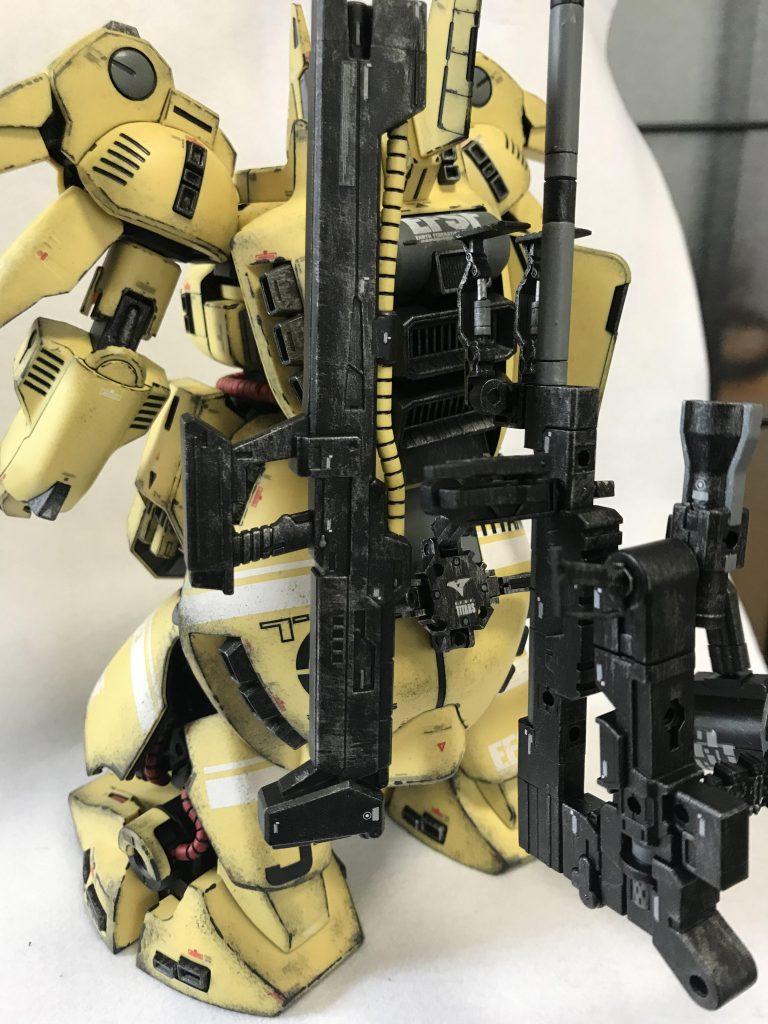 MG 1/100 ジO ウェザリング アピールショット6