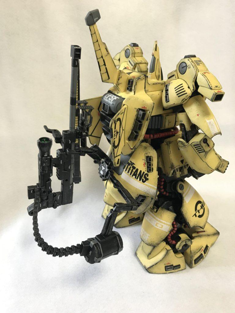 MG 1/100 ジO ウェザリング アピールショット4
