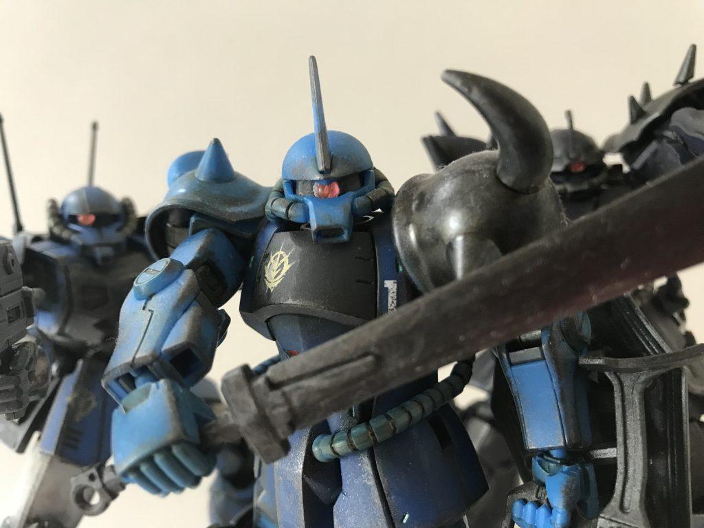 ジオン地上部隊「ゴブリン小隊」 アピールショット1