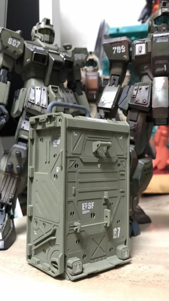 MG陸戦型コンテナ アピールショット3