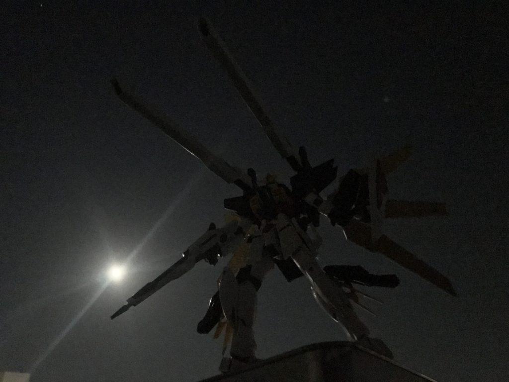 平成最後の満月と