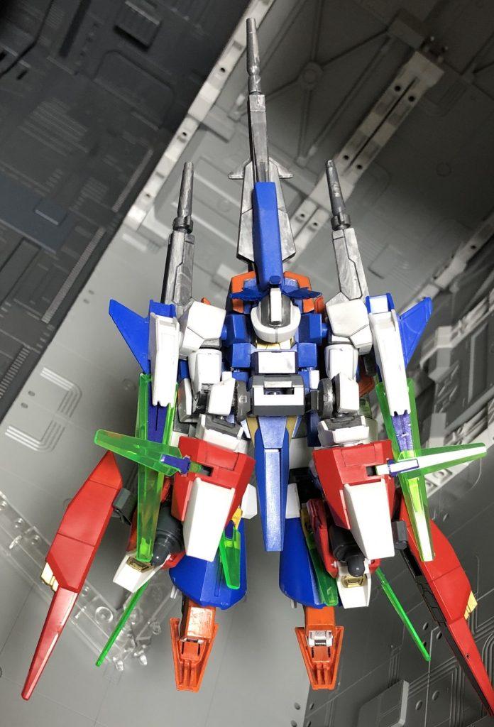 ガンダムAGE2トワイライトエナポート改 アピールショット2