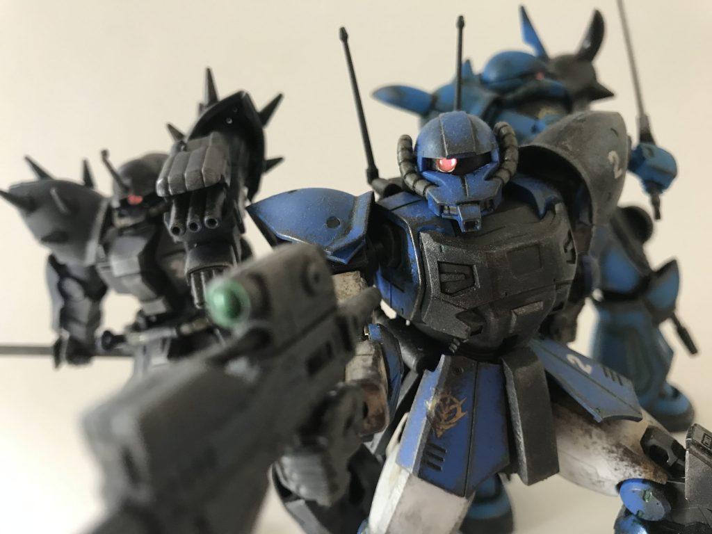 ジオン地上部隊「ゴブリン小隊」 アピールショット2