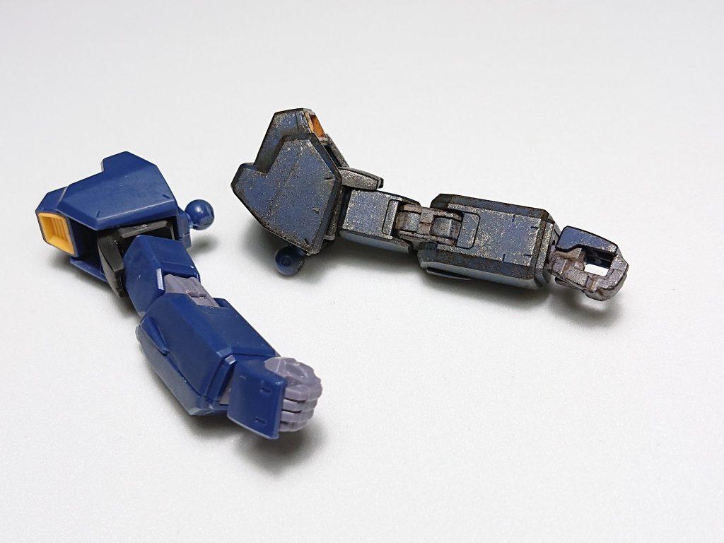HGUC ガンダムマーク2 ティターンズ(リバイブ) 制作工程2