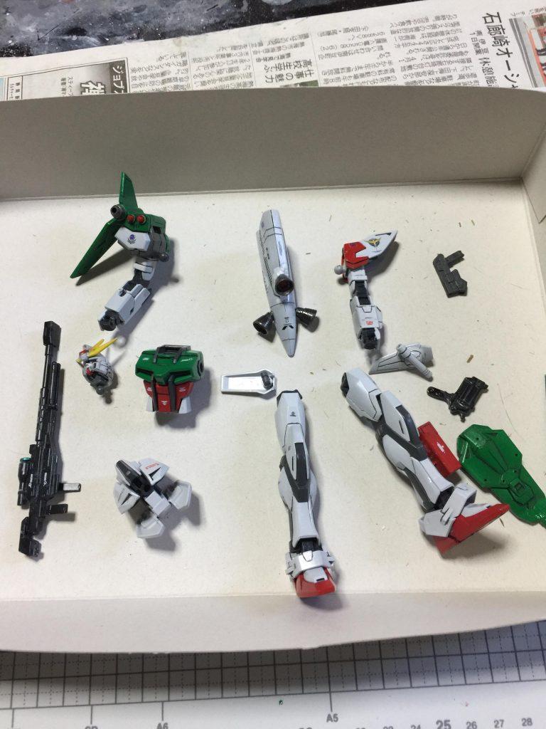 3代目 ロックオン・ストラトス 狙い撃つぜ❗️ 制作工程4