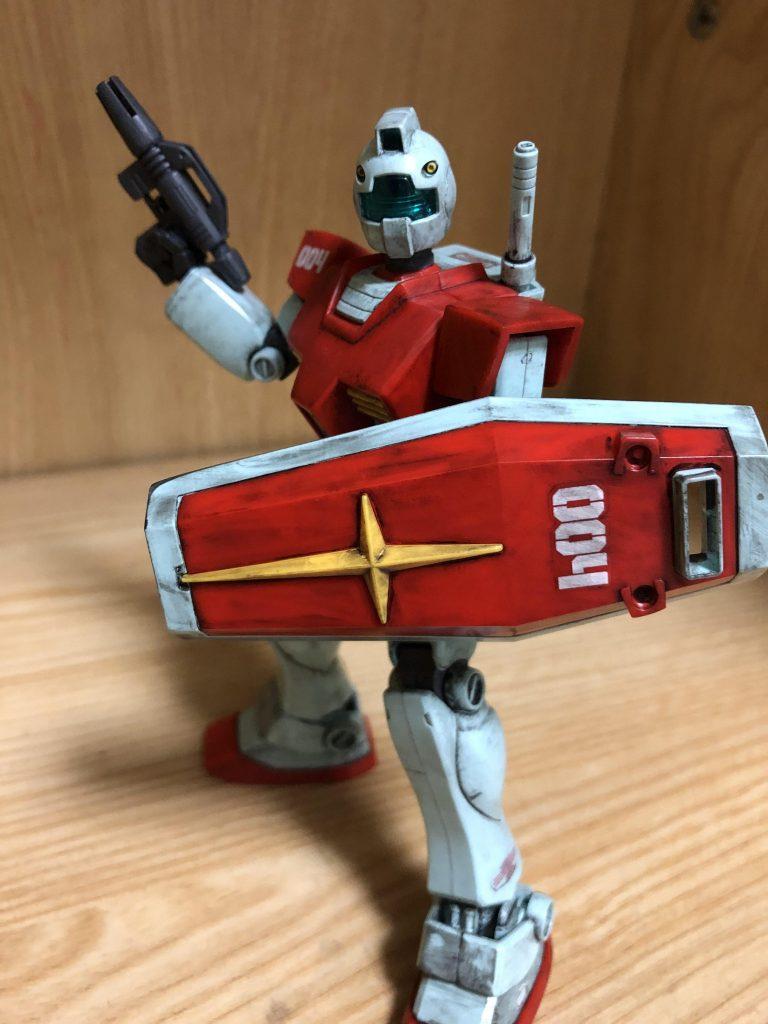 RGM ー79 GM 制作工程1