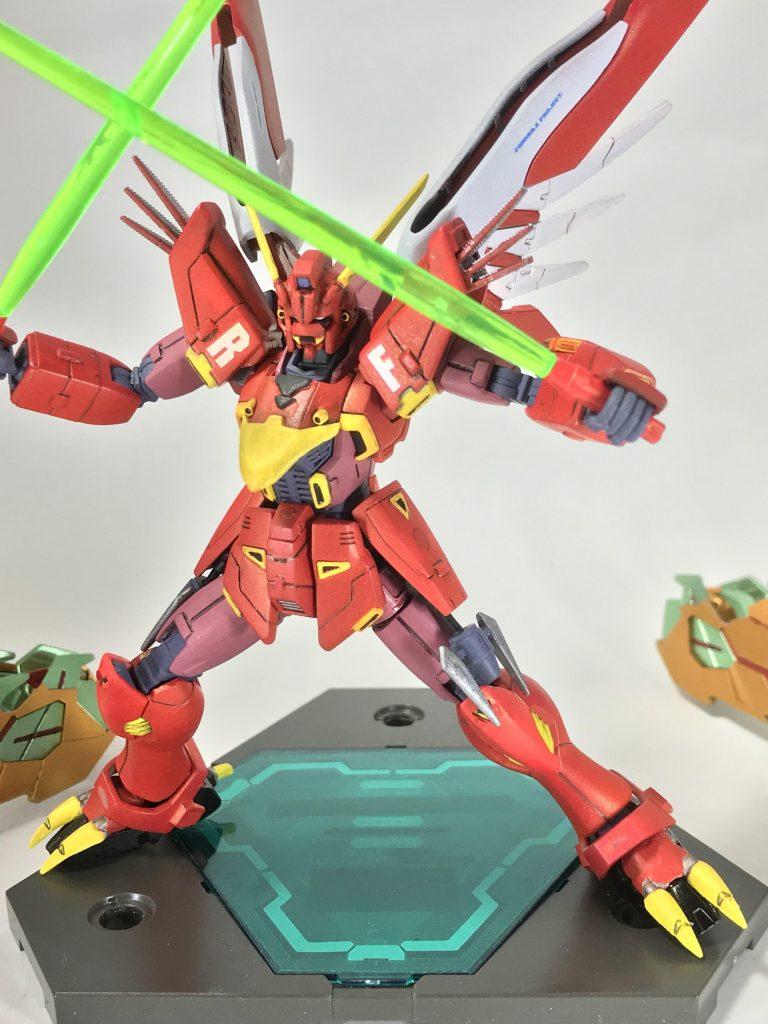 レッドファイター91-HINOTORI- アピールショット2
