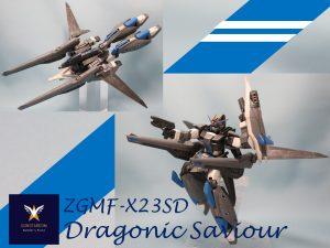 ZGMF-X23SD Doragonic Saviour (ドラゴニック セイバー)