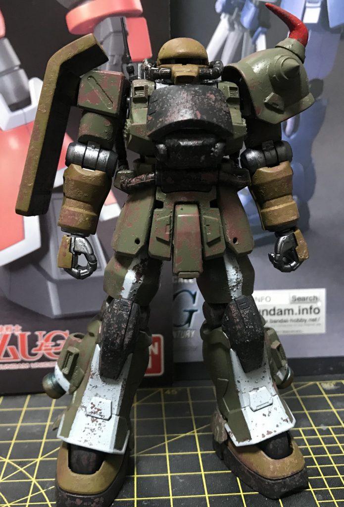 陸戦高機動型ザク 制作工程3