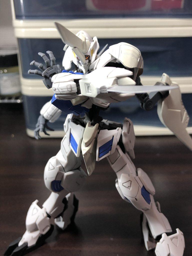 白の聖騎人 制作工程1