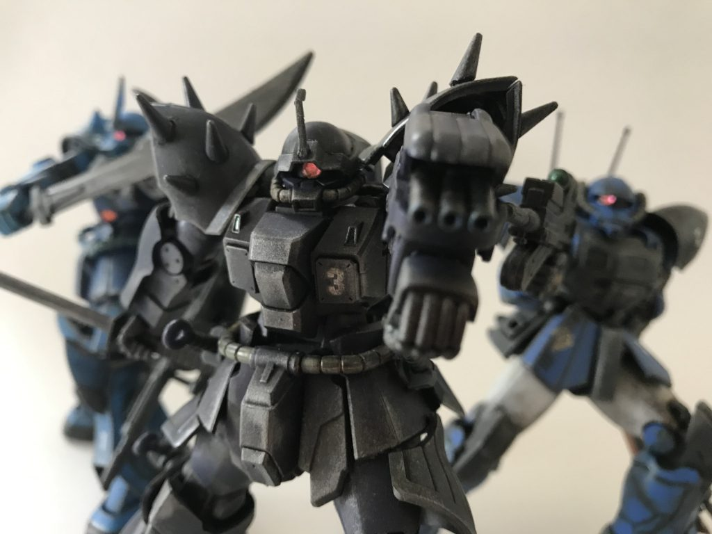 ジオン地上部隊「ゴブリン小隊」 アピールショット3