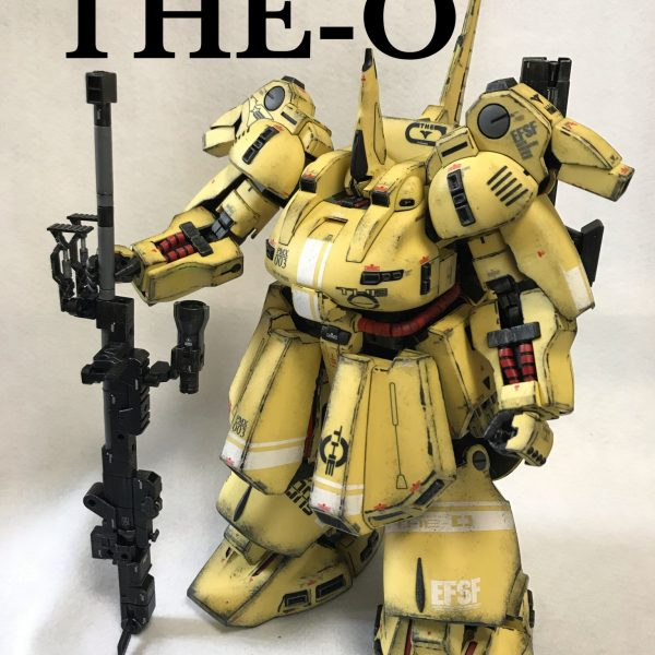 MG 1/100 ジO ウェザリング