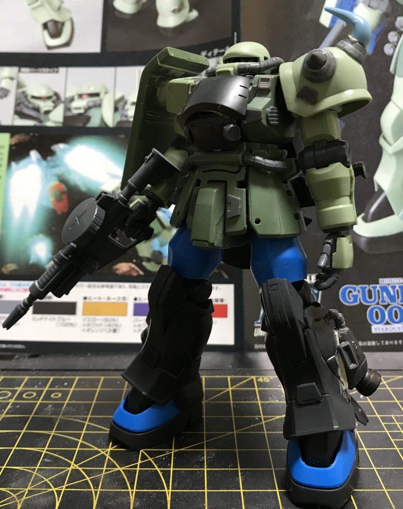 陸戦高機動型ザク 制作工程1