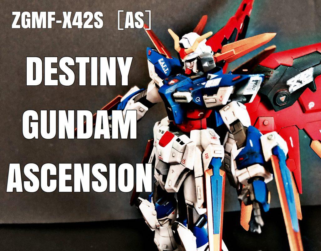 ZGMF-X42S[AS}DESTINY GUNDAM ASCENSION