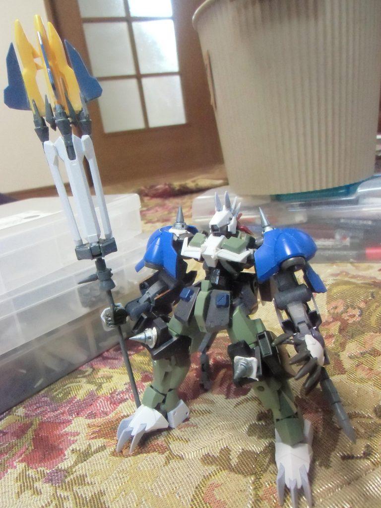 グレイズ改参フェンリル 制作工程1