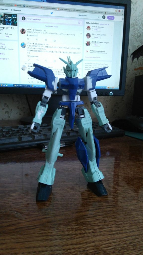 Gundam Griepe RE:ver 制作工程1