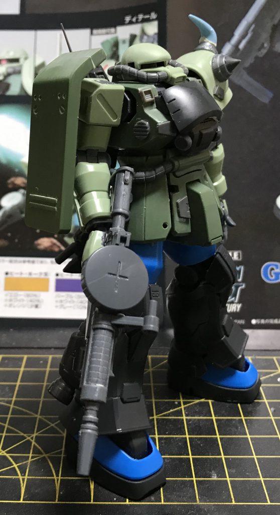陸戦高機動型ザク 制作工程2