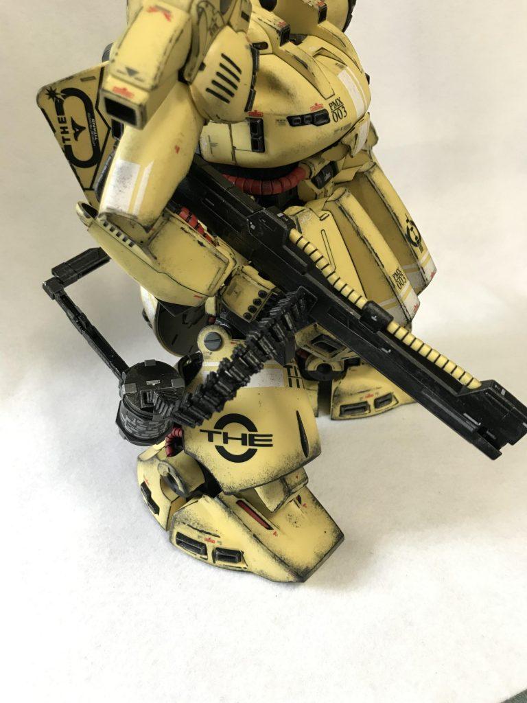 MG 1/100 ジO ウェザリング 制作工程1
