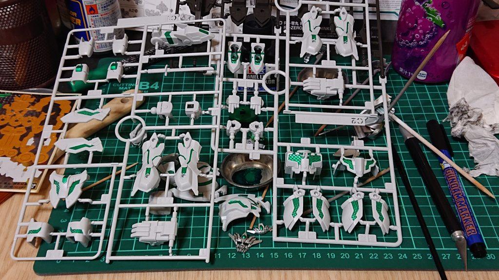 RX-零丸 神気結晶 制作工程1