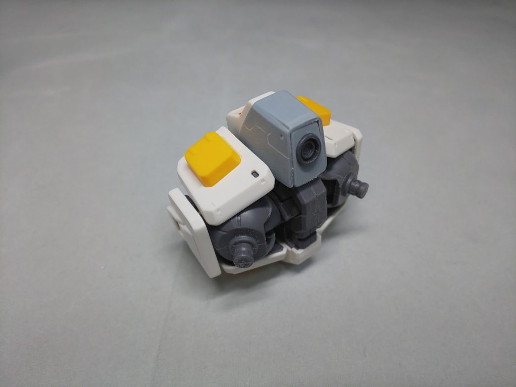 MG ガンダム THE ORIGIN 最終決戦仕様 制作工程2