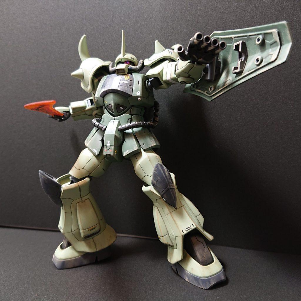 MS-07B 【Local fighter type】グフ 局地戦闘仕様 アピールショット7