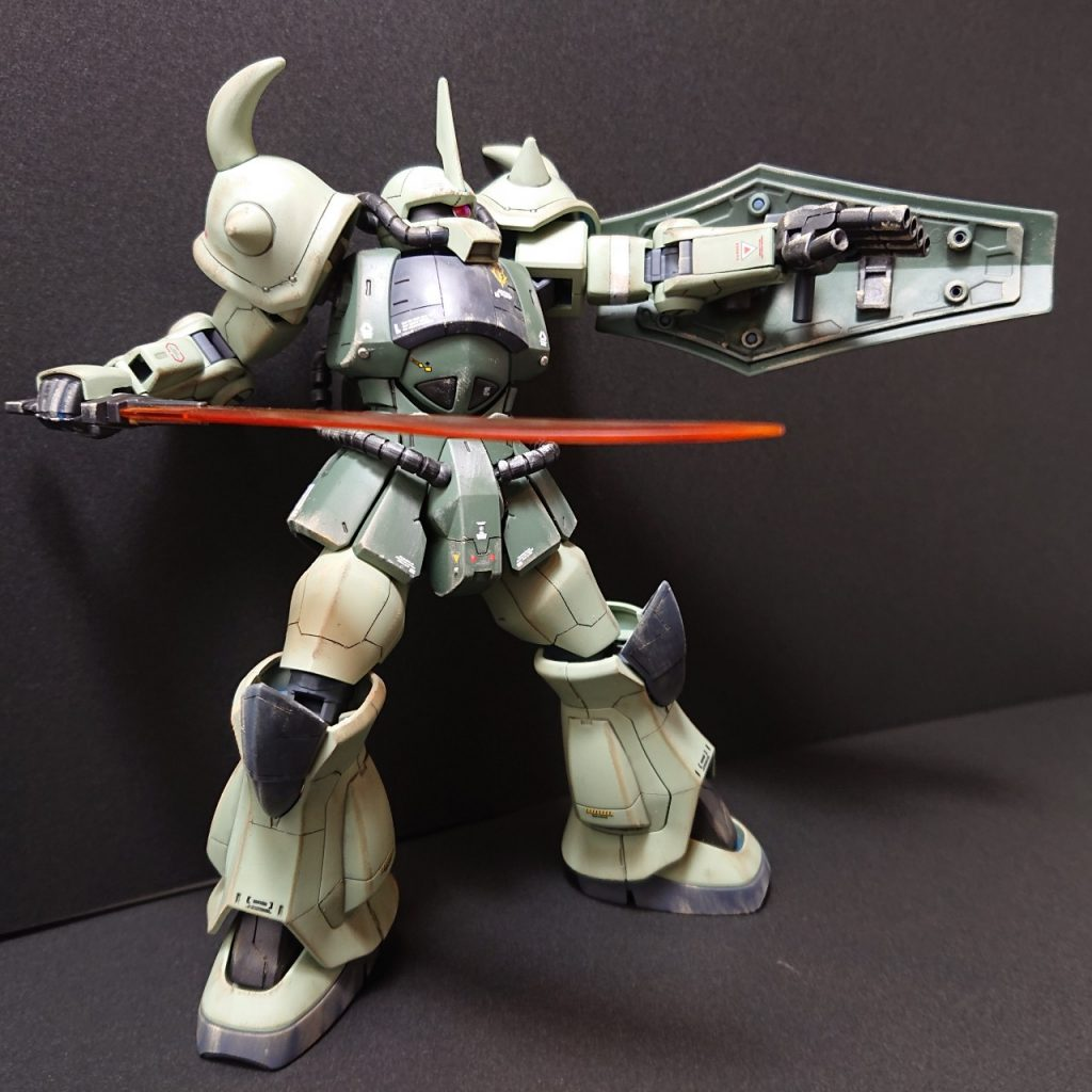 MS-07B 【Local fighter type】グフ 局地戦闘仕様 アピールショット1