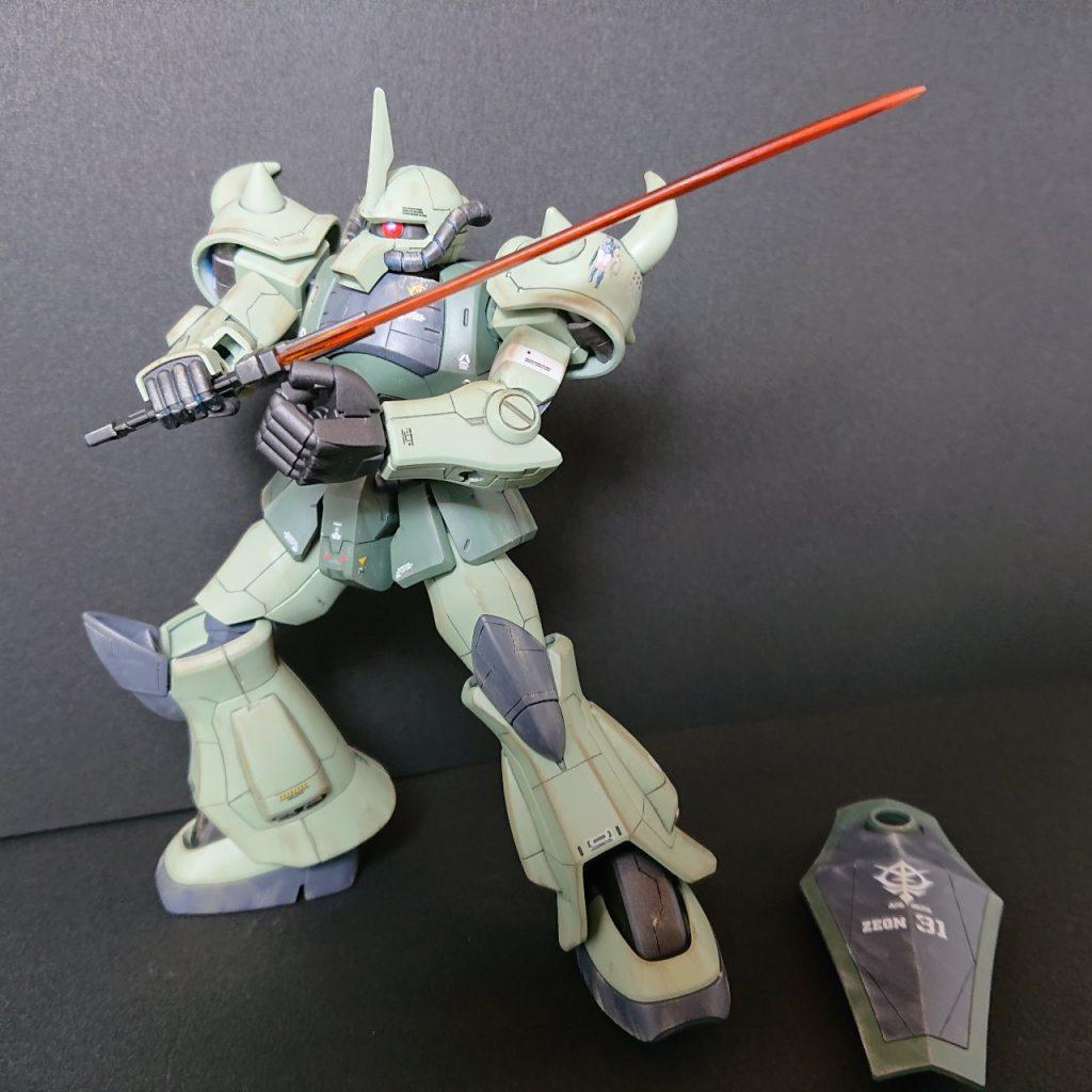 MS-07B 【Local fighter type】グフ 局地戦闘仕様 アピールショット5