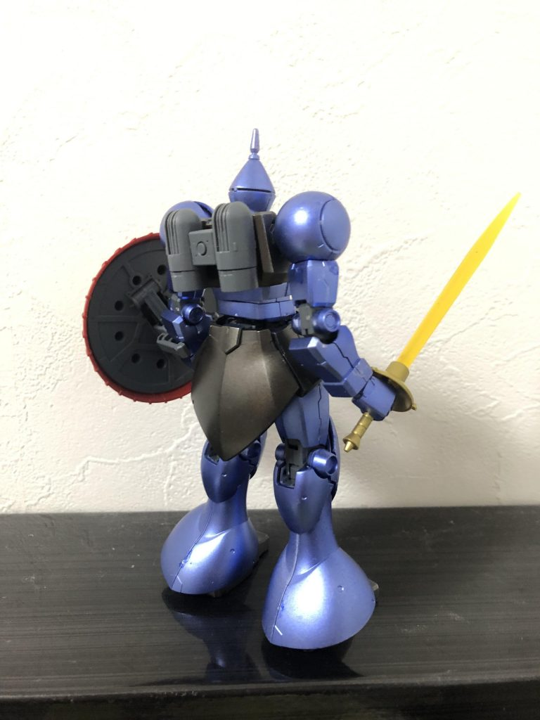HGUC YMS-15 ギャン アピールショット3