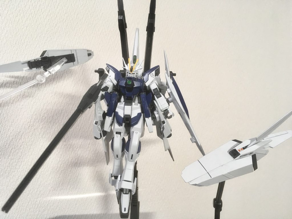 ZGMF-X56S/ν ライジングインパルス改 制作工程4