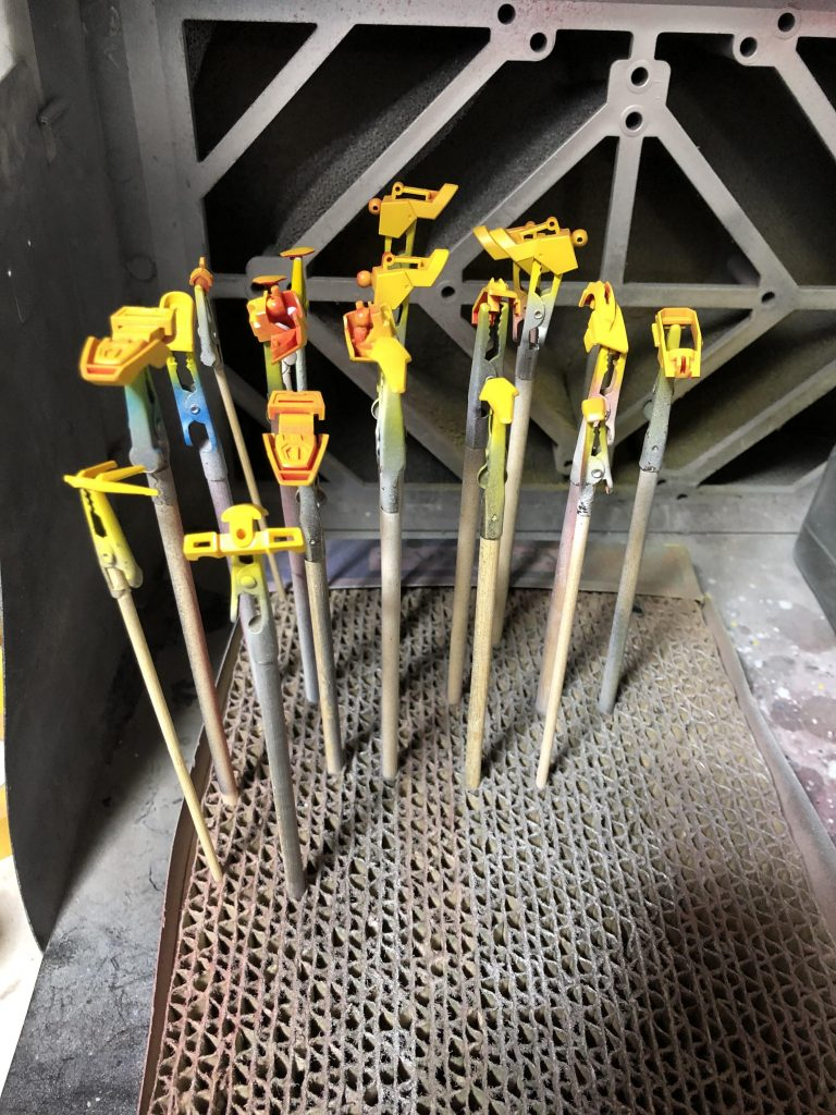 ビルドバーニングガンダム 制作工程1
