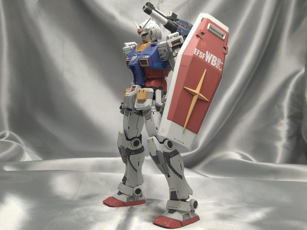 MG ガンダム THE ORIGIN 最終決戦仕様 アピールショット2