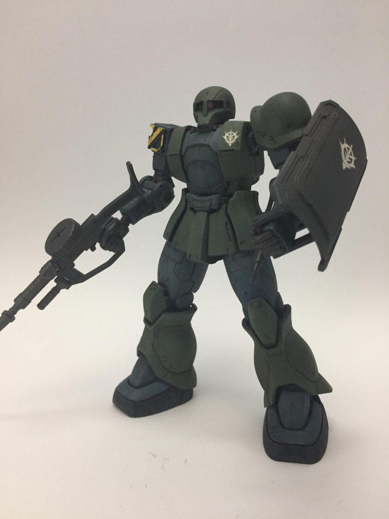 MS-05 ザクⅠ 1st.color ver. アピールショット1